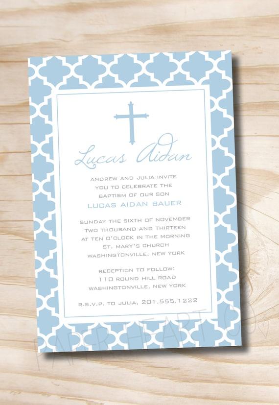 personalized baptism invitation free personalized invitation cards