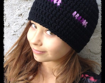 Minecraft inspired Beanies- all sizes available