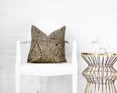 """Paisley Linen Decorative Pillow Cover - 18x18"""""""