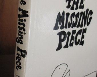 "Vintage Shel Silverstein's ""The Missing Piece"" Children's Book - 1976 Edition - Illustrated"