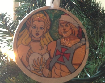 She-Ra and He-Man Ornament