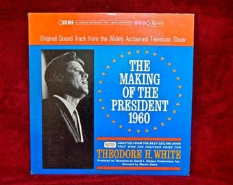 The Making of the President 1960 - Original Sound Track - 1960 Vintage Vinyl 2 lp Gatefold Record Album