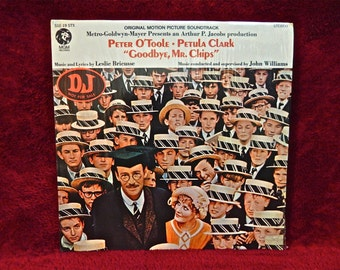 GOODBYE, MR. CHIPS - Original Motion Picture Soundtrack - 1960 Vintage Vinyl Gatefold Record Album