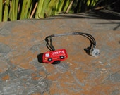 Fire Truck - Hearing Aid Cord or Cochlear Implant Cord