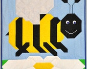 Bumble Bee Baby Quilt PATTERN