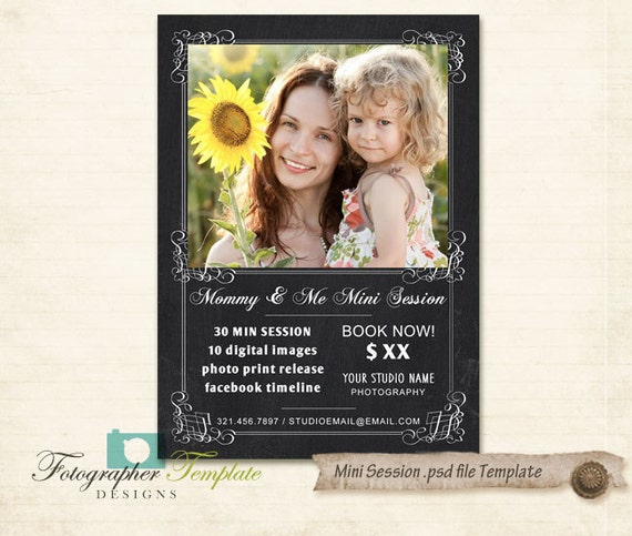 Mommy And Me Mini Sessions Template Mothers Day Photography