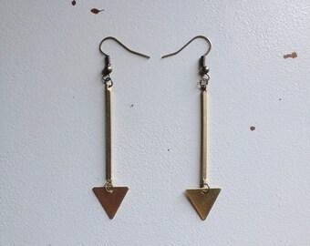 Broken Arrow Earrings