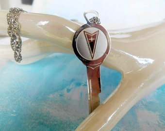 Pontiac Key Necklace Vintage