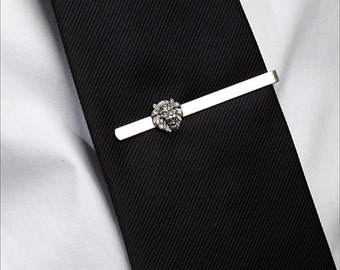 Lion Jewelry Tie Bar Clip in Sterling Silver