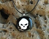 Unisex Skull Pendant and Necklace