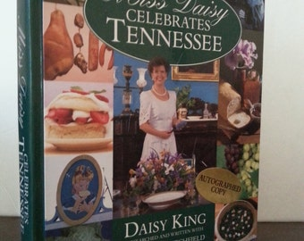 Collectable Vintage Cookbook, Vintage Kitchen, Kitchen Props, Retro Kitchen, Farmhouse Kitchen, Miss Daisy Celebrates Tennessee