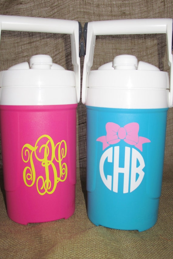 Items Similar To Monogrammed 1 2 Gallon Igloo Sport Cooler