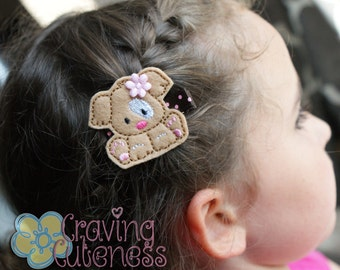 Adorable Puppy Hair Clip - Meet Miss Pippa