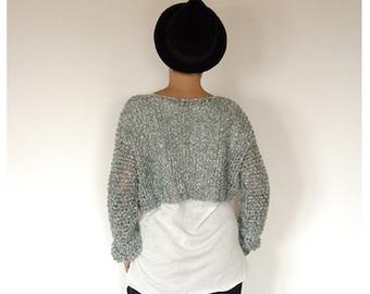 Crop Sweater.