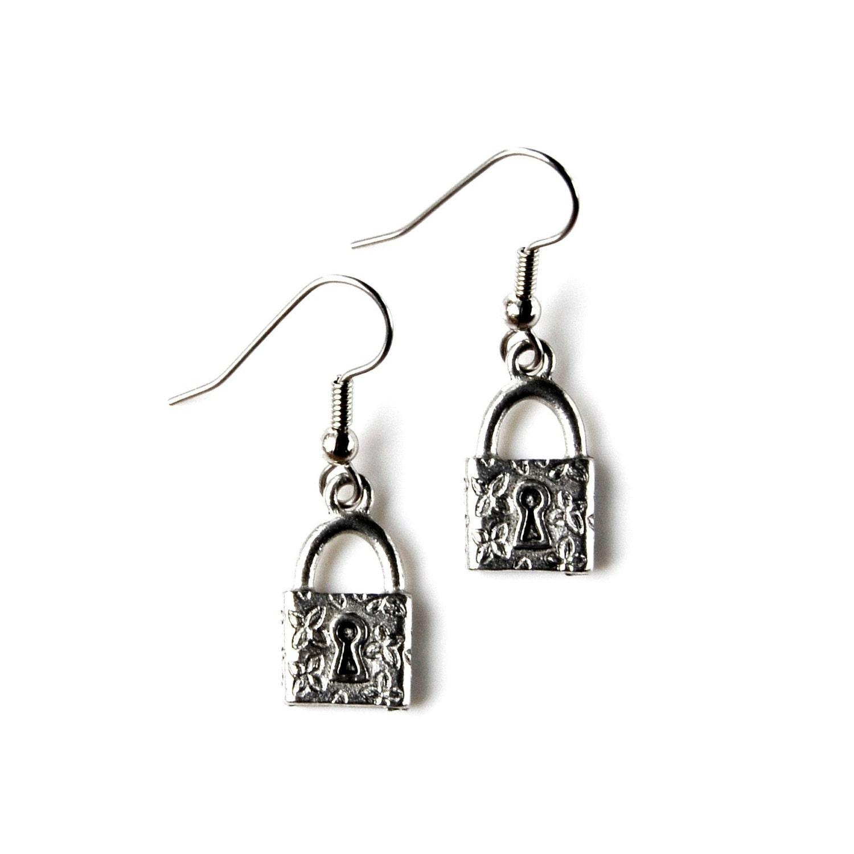 padlock earrings accessories s jewelry gift