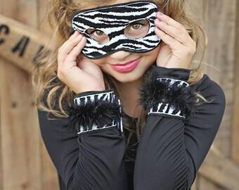 Zebra: Wrist Cuffs