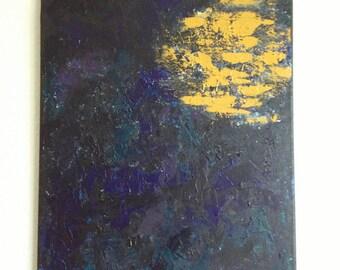 Harvest Moon 16 x 20 Original Painting