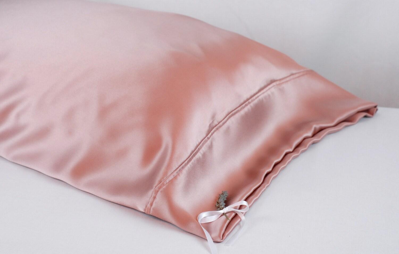 100 Silk Pillowcase Wild Rose Charmeuse Hypoallergenic
