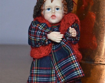Vintage Porcelain Doll from Midwestern Home Products