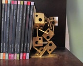 Gold Metal Sculpture/Bookend: Can be painted Any Color!