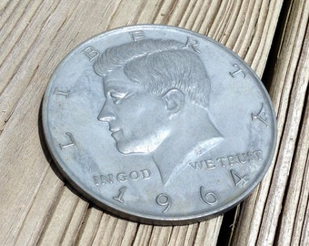 Large Novelty Kennedy Half Dollar - Paperweight
