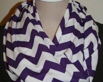 "Wholesale Chevron Infinity Scarf  Circle Loop Scarf 8.5"" x 64"" L - Wholesale lot of 15-You Choose Colors"