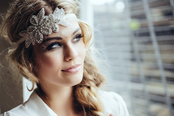Strasshaarband haarband gatsby haarschmuck style - Diva noche reviews ...
