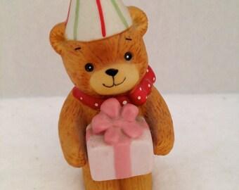 1980 Lucy and Me Birthday Bear Figurine