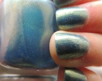 Abe Sapien Inspired Nail Polish