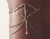 Tiger's Eye - Armlet - Arm cuff - Arm chain - Body Jewelry