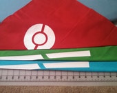 Sapphire or May Bandana for Cosplay - Pokemon Ruby/Sapphire/Emerald/OmegaRuby/AlphaSapphire Costume head scarf