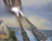 Antique International Sterling - Richelieu Pattern - 2 Piece Set Demitasse Tea Spoon No Mono