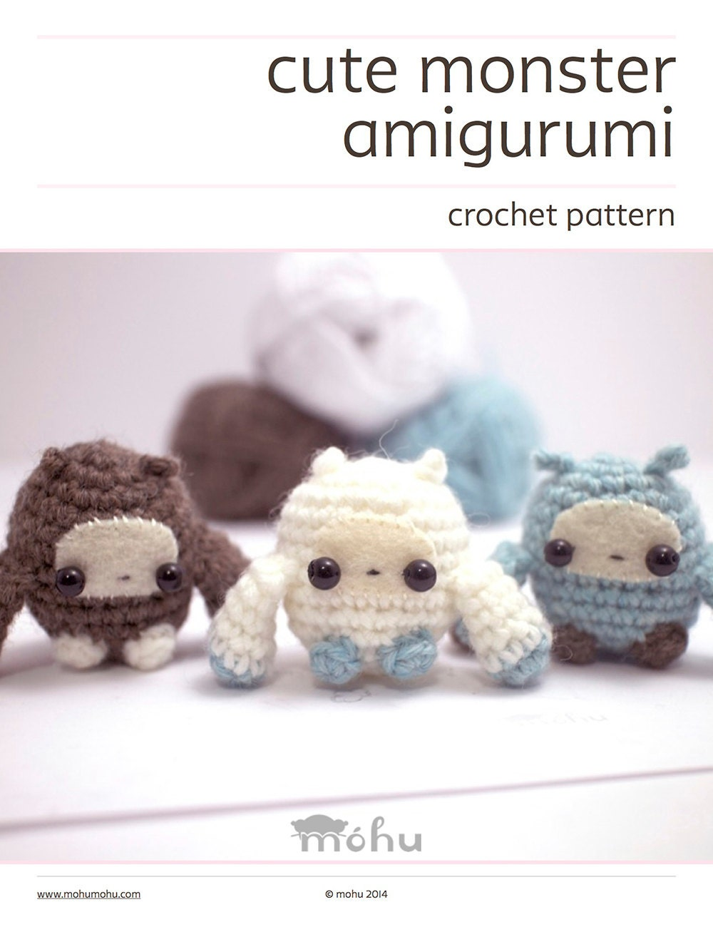 Amigurumi En Monsters : crochet pattern amigurumi monsters