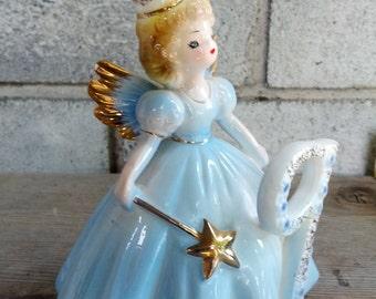 Joseph's Originals Girl fairy with blie dress for 9 y/o