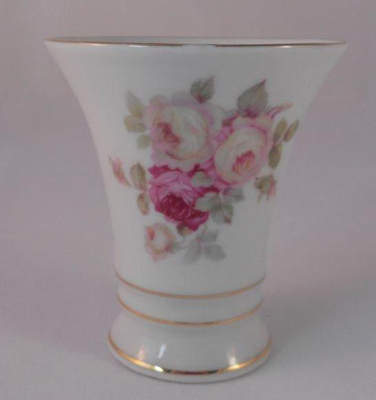 Vintage Schumann Arzberg Bavaria Antique Rose Vase