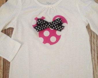 Minnie Mouse Inspired Shirt, Birthday Party Shirt, Disney Vacation Shirt