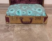 Antique Trunk Pet Bed