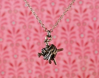 "Knitters' 18"" Charm Necklace"