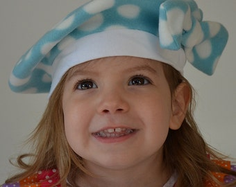 Kids French Beret Kids Hat French Beret with Bow Baby Hat Childs Hat