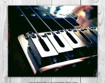 Abstract Guitar Photography. Music. Rock and Roll. 8x10 Print