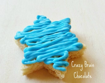 Star of David Rice Krispie Treats (12)