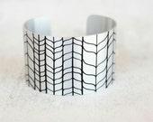 Silver Bracelet - Trendy Cuff - Trending Bracelets - Womens Fashion Trends - Chunky Cuff - Large Cuff Bracelet by Zoe Madison (271m)