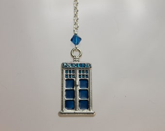Tardis Cell Phone Charm