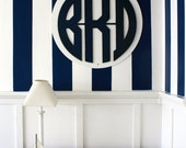 Wooden Circle Cut Out: Unpainted, DIY Your Own Mounted Monogram, Cute Sign, or Chalkboard