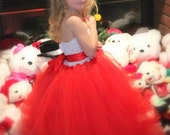 Wrapped Up in a Bow Christmas Dress Valentine Dress sizes 12-18m, 18-24m, 2t, 3t, 4t, 5t, 6