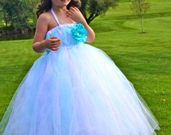 Enchanted Wishes - Flower Girl - Tutu Dress size 12-18m, 2t, 3t, 4t, 5t, 6 girls