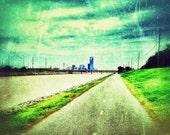 OKC River Trail Photo Print