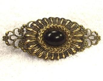 Victorian Style Hair Clip - Retro Hair Accessory - Jewelry Hair Accent - Hair Barrette