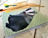 Curious Badger Paper Notebook