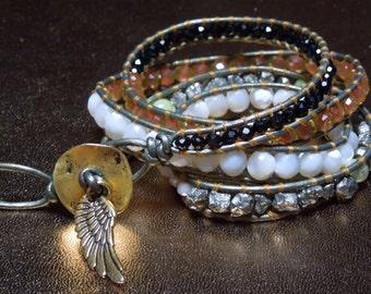 Angel Glow Wrap bracelet